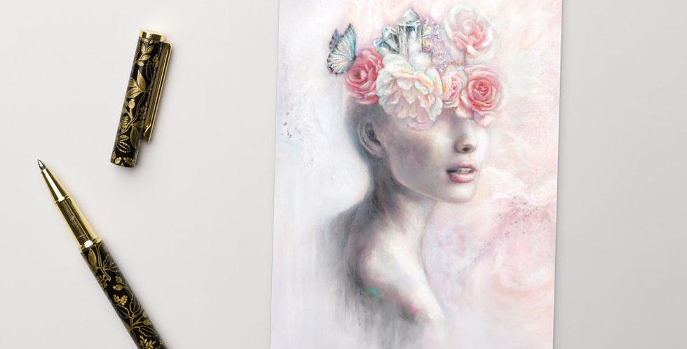 """garden of my mind"" mini print"