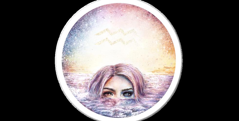 """""""aquarius"""" stickers"""