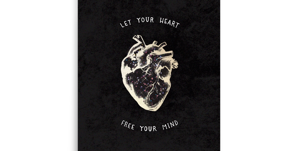 """heart freedom"" fine art print"
