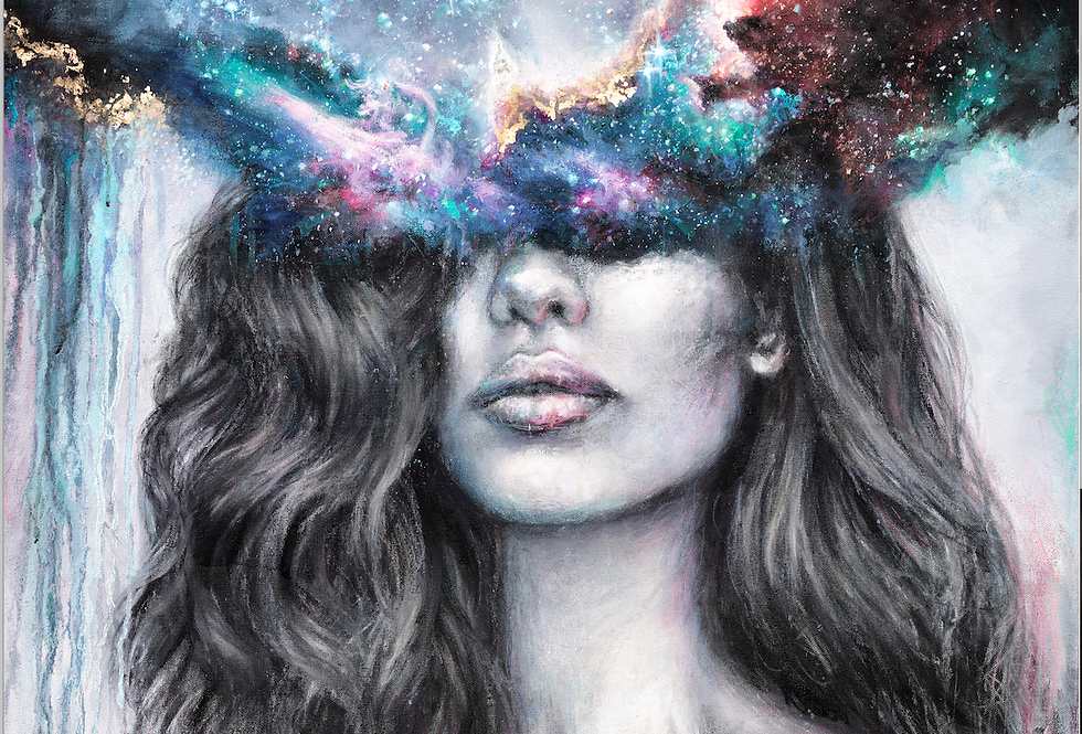 """inner realms"" original painting"