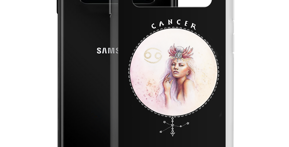 """cancer"" black samsung case"