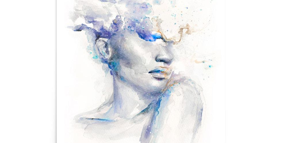 """galaxies in your head"" fine art print"