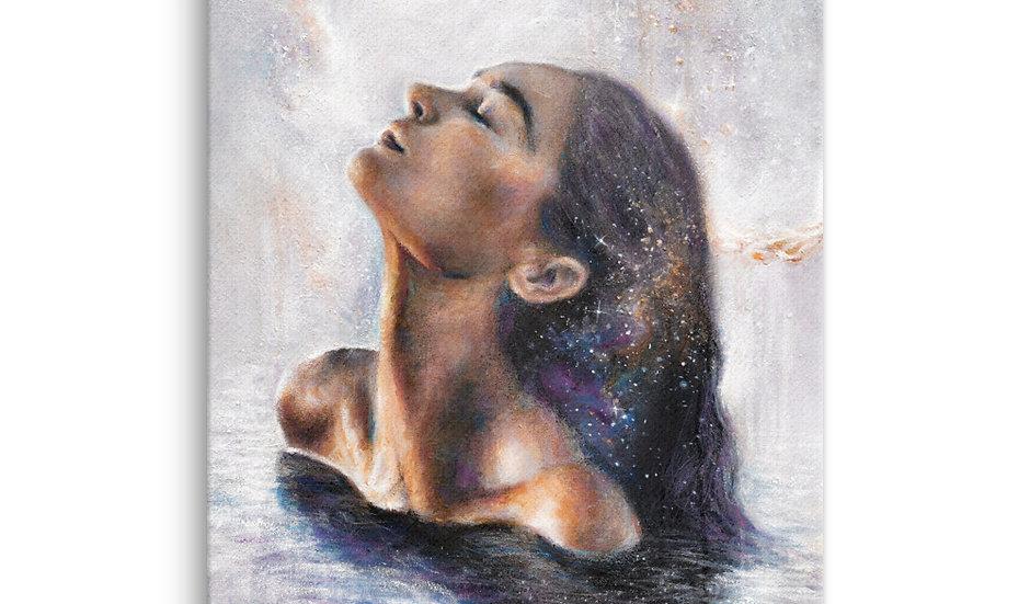 """rebirth"" canvas print"