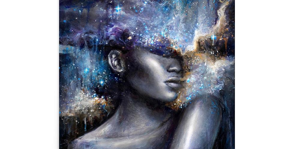 """cosmic consciousness"" fine art print"