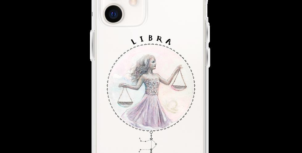 """""""libra"""" clear iphone case"""