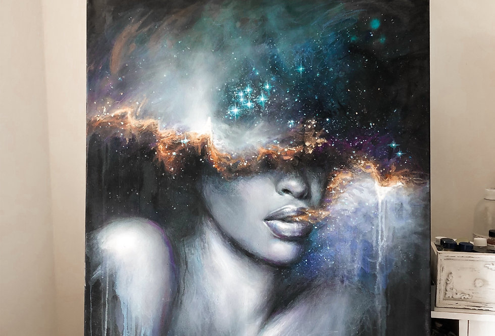 """silent breath"" original painting"