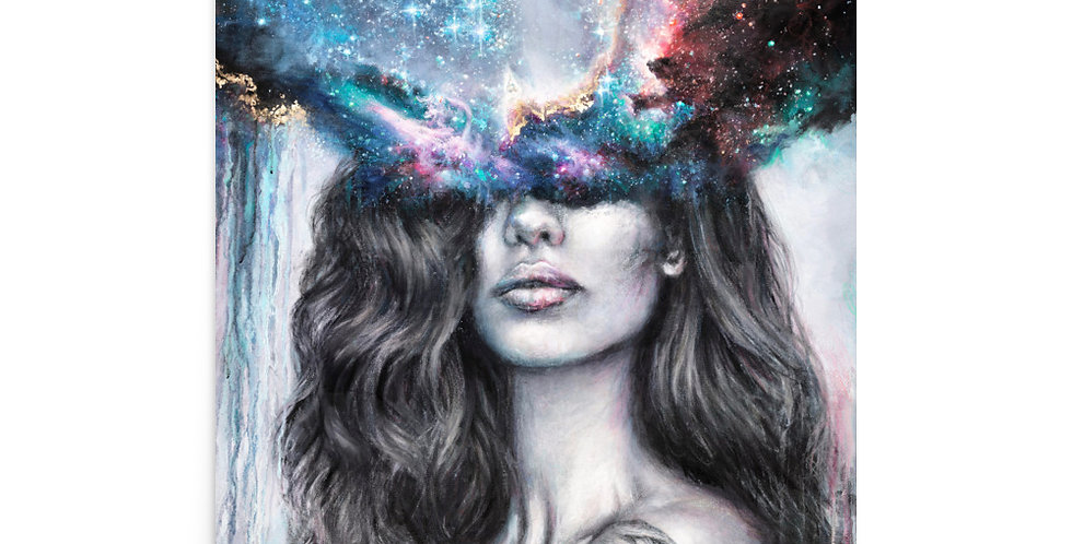 """""""inner realms"""" fine art print"""