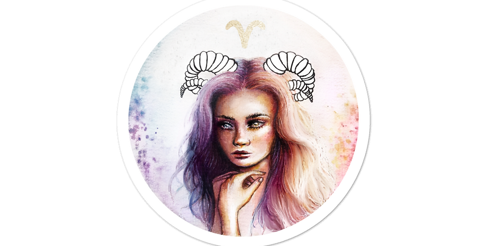 """""""aries"""" stickers"""