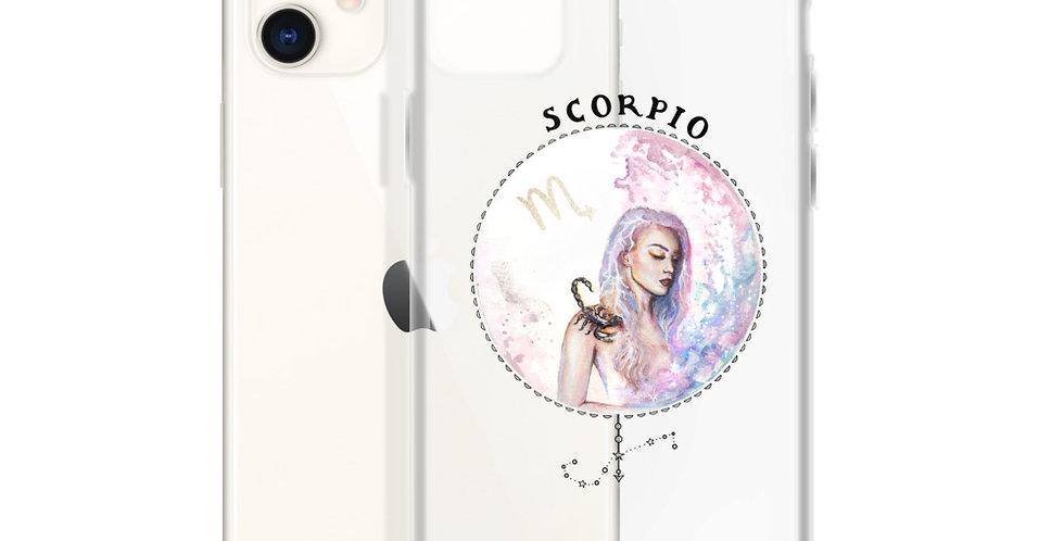 """""""scorpio"""" clear iphone case"""