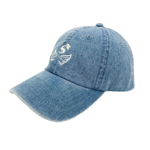 $ Wing Light Blue Denim CAP