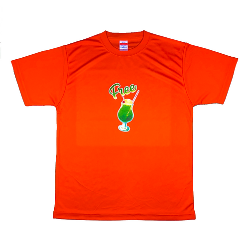 Free Sporty T-shirt Red