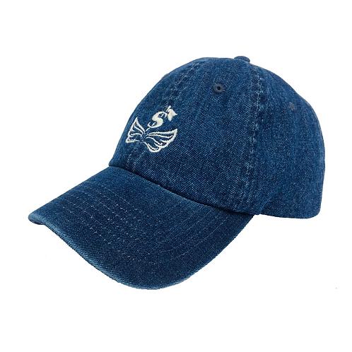 $ Wing  Dark Blue Denim CAP