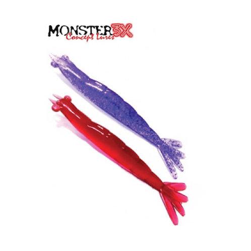 Camarão Monster 3x X-solid 8cm