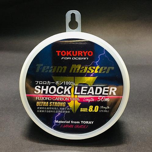#8 Shock leader Team Master Tokuryo 8.0 - 29.0lb