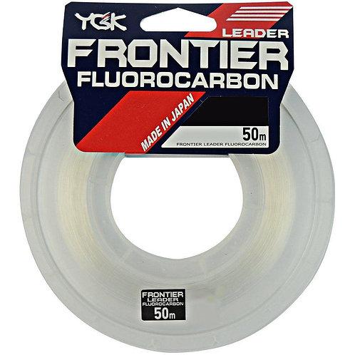 20lb LeaderYGK Frontier - Fluorocarbon- 20lb (0,41mm) - c/50m