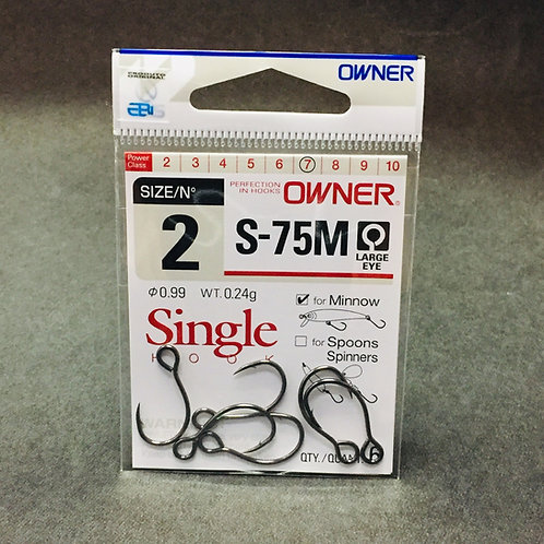 #2 Anzol Owner Single Hook S-75M 2