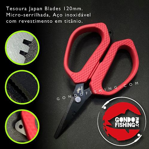 Tesoura Japan Blades 120mm Inoxidável