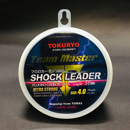 #4 Shock leader Team Master Tokuryo 4.0 - 15.5lb