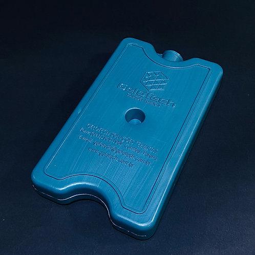 Gelo Artificial Rígido Gelo-x placa Reutilizável 500ml 17x10x3cm Gelotech