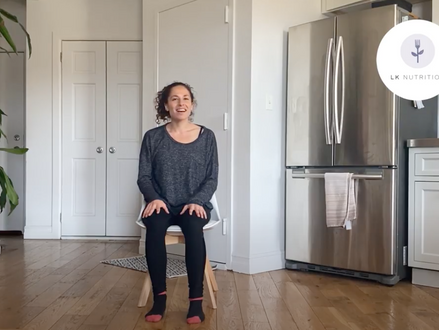 Chair Yoga to Support Recovery