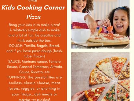 Kids Cooking Corner: Pizza