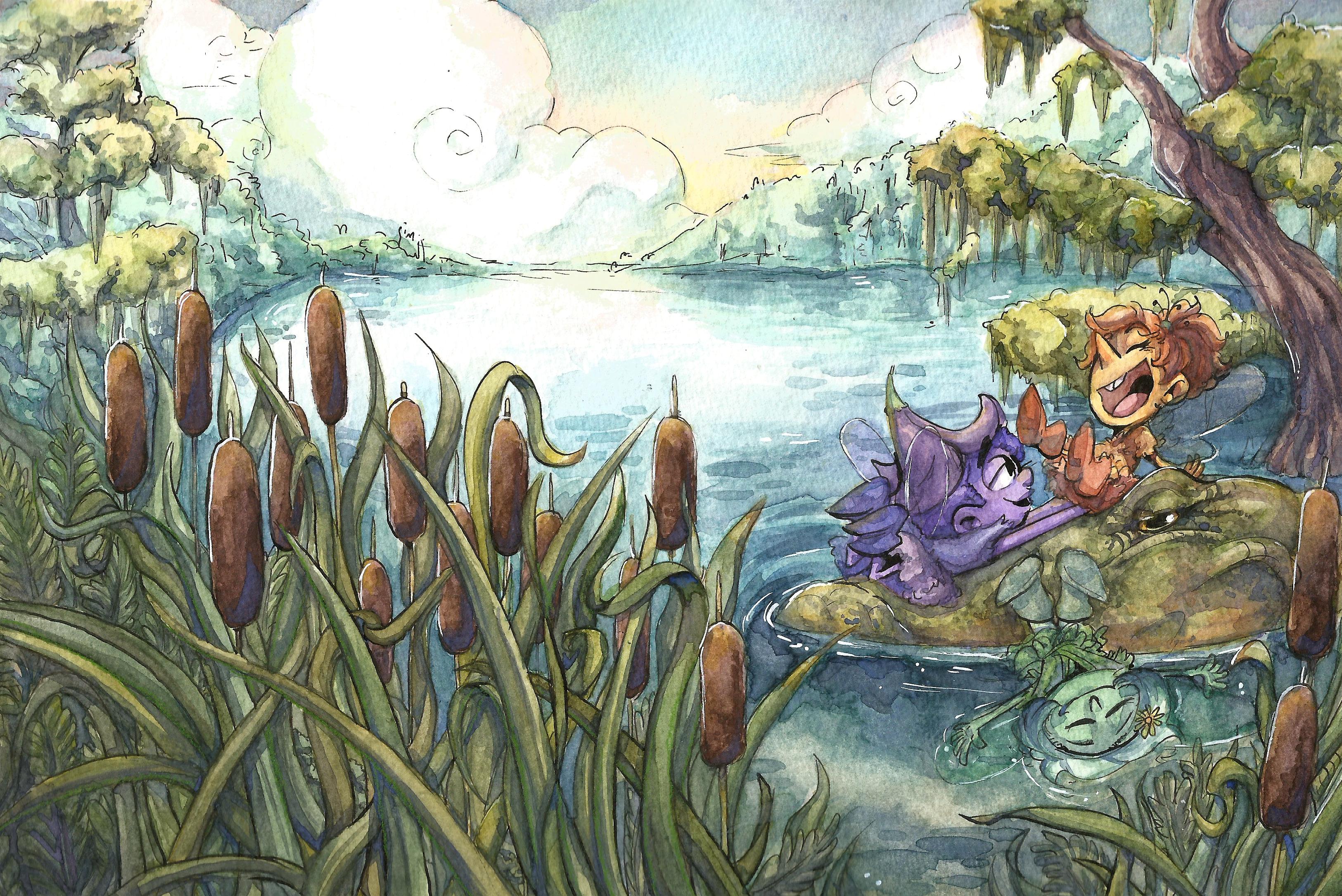 Swamp Sprites