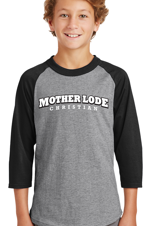 Mother Lode Christian (Youth Raglan)