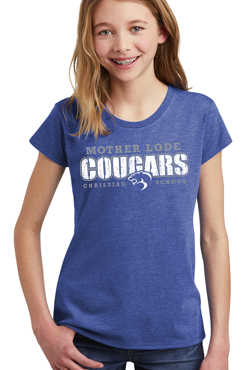 Cougars Spirit Wear (District Youth Girls)