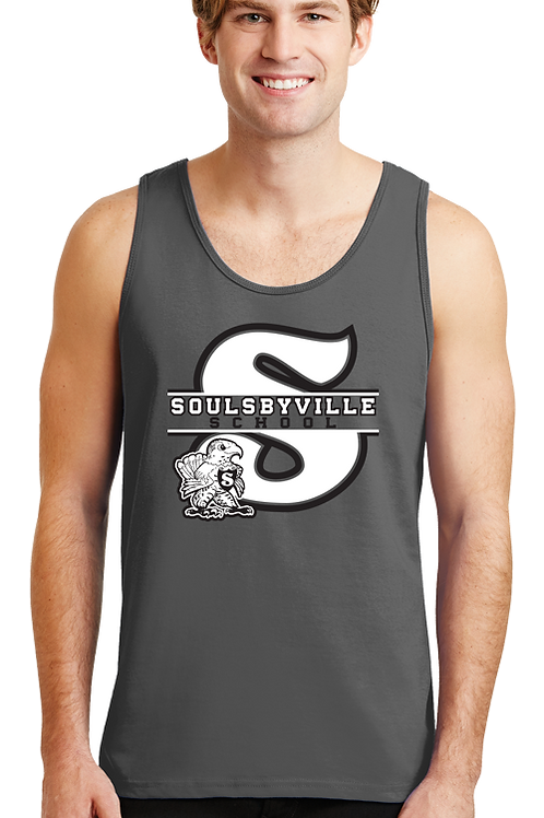 """S"" Logo Mens Tanks"
