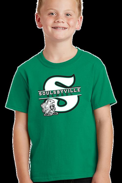 """S"" Logo Youth Boys Tee Shirt"