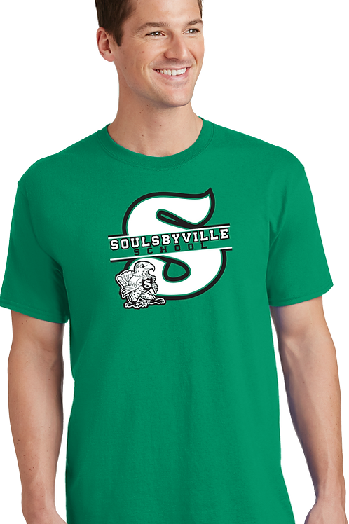 """S"" Logo Mens Tee Shirt."