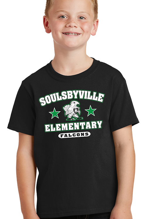 Soulsbyville El Youth Boys Tee Shirt