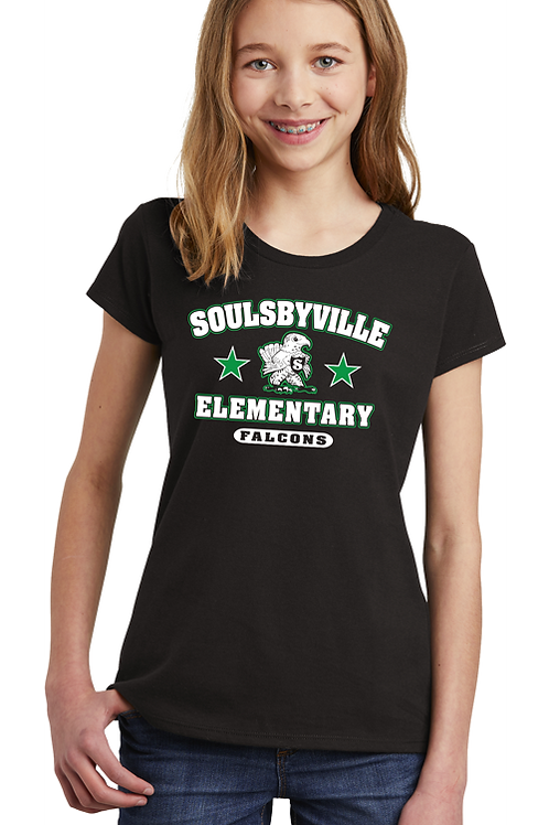 Soulsbyville El Girls Youth District Tee