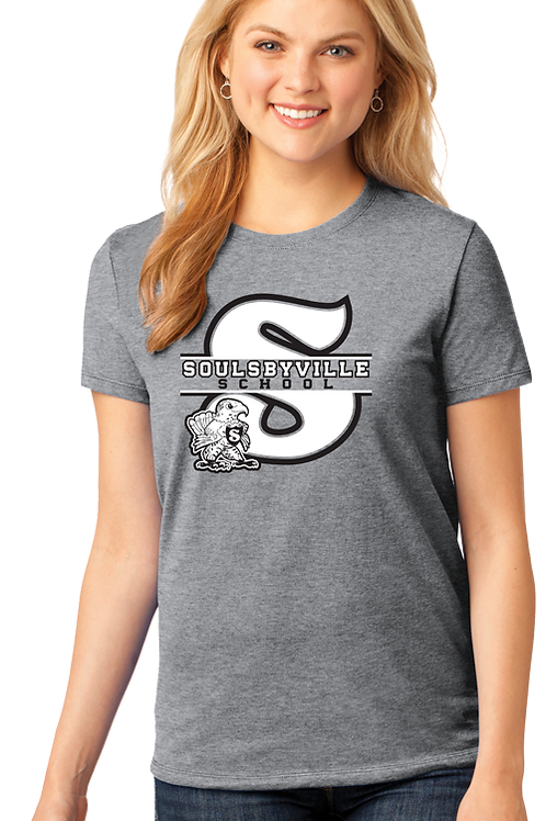 """S"" Logo Womens Tee Shirt"