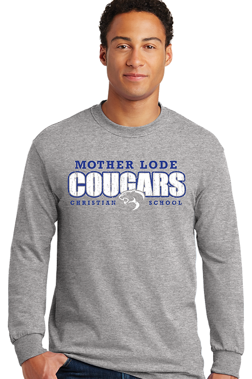 Cougars Spirit Wear (Mens LS)