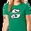 "Thumbnail: ""S"" Logo Womens Tee Shirt"