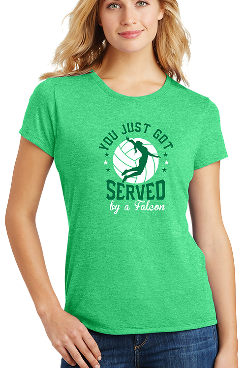"Green Frost ""Served By A Falcon"" Tee"