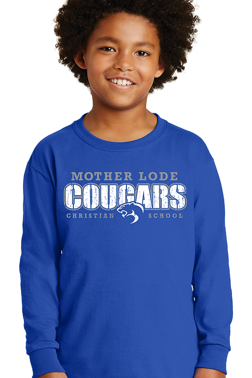 Cougars Spirit Wear (Youth LS)