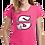 "Thumbnail: ""S"" Logo Youth Girls Tee Shirts"