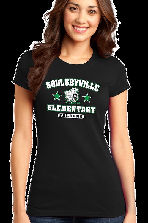 Soulsbyville El Womens District Tee