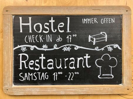 Neue Öffnungszeiten fürs Restaurant