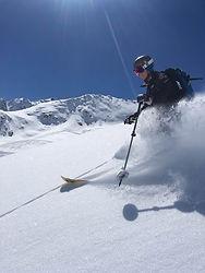 Skifahren in Matt