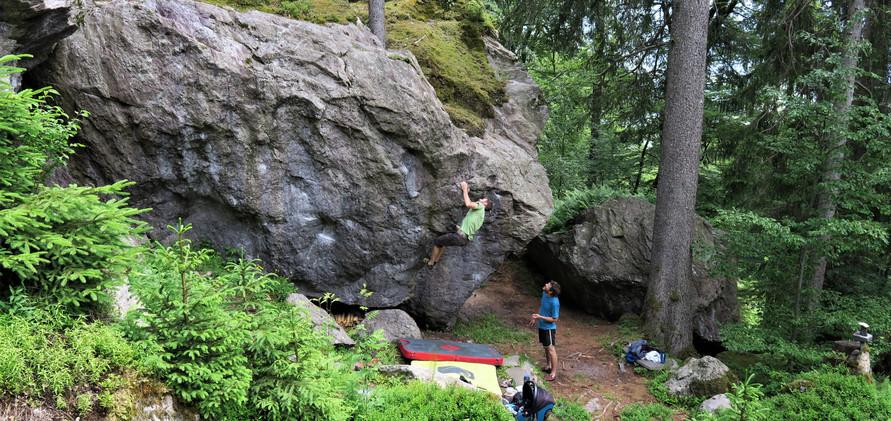 Boulderwald Gufelstock