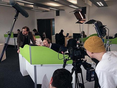 2nd Year film shoot 'Life Insurance', sh