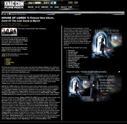 KNAC: HOUSE OF LORDS To Release New Album, ``Saint Of The Lost Souls`` In March