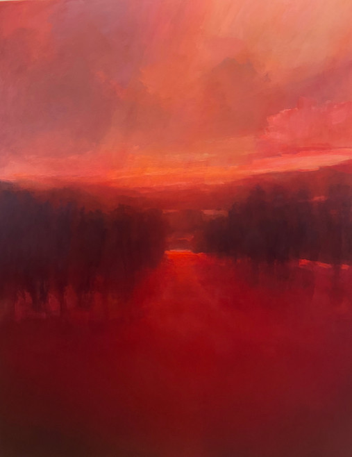 Red River Evening