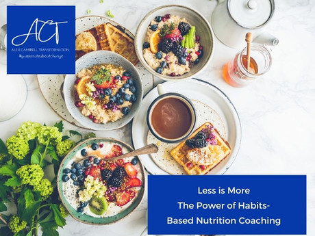 Less is More ~ The Power of Habits-Based Nutrition Coaching