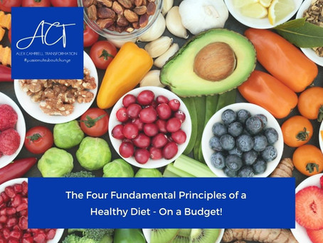 The Four Fundamental Principles of a Healthy Diet...On a Budget