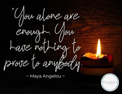 I am Enough!?