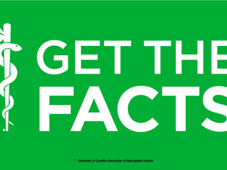 In Celebration of Naturopathic Medicine Week...Get the Facts...
